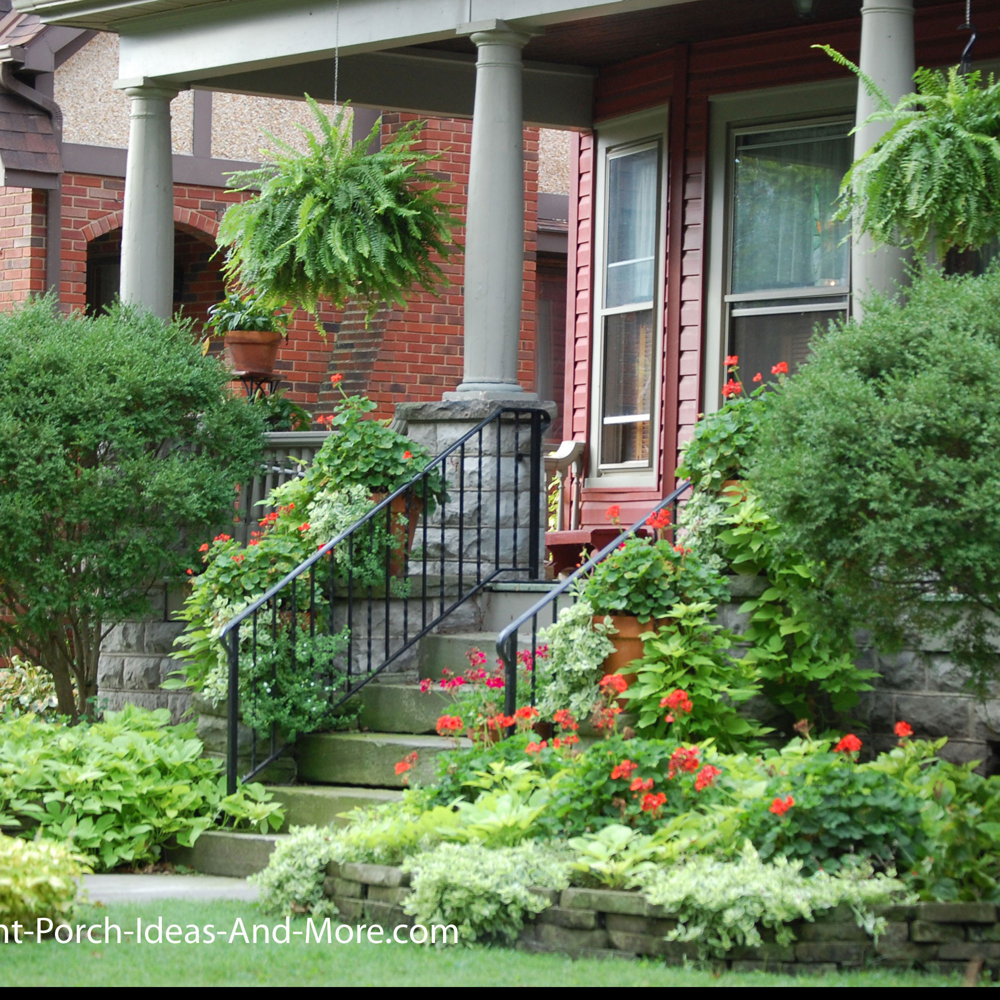 Front Porch Landscape Ideas  Porch Landscaping Ideas for Your Front Yard and More