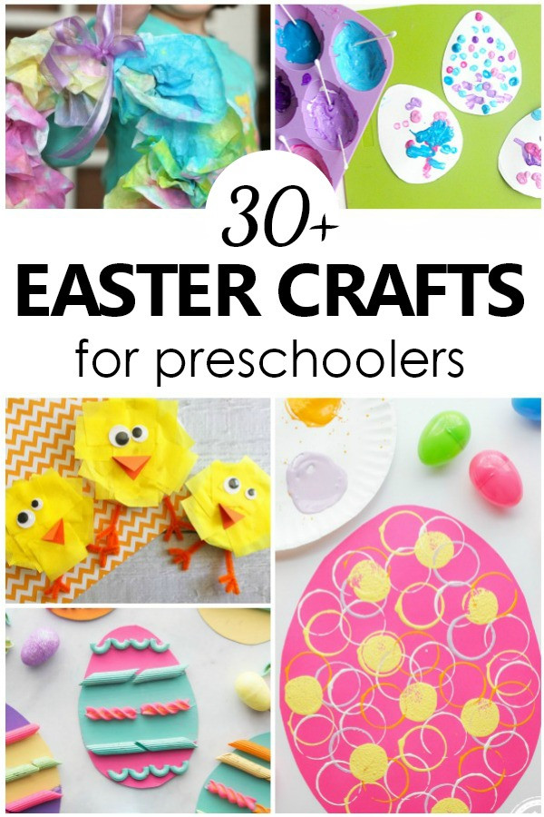 Fun Crafts For Preschoolers  30 Easter Crafts for Preschoolers Fantastic Fun & Learning