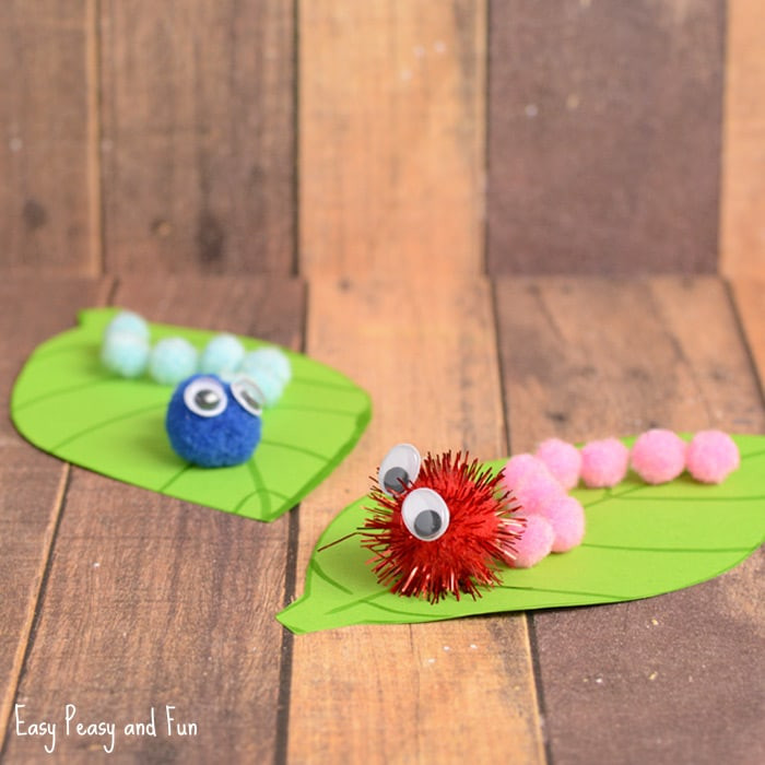 Fun Crafts For Preschoolers  Spring Crafts for Kids Art and Craft Project Ideas for