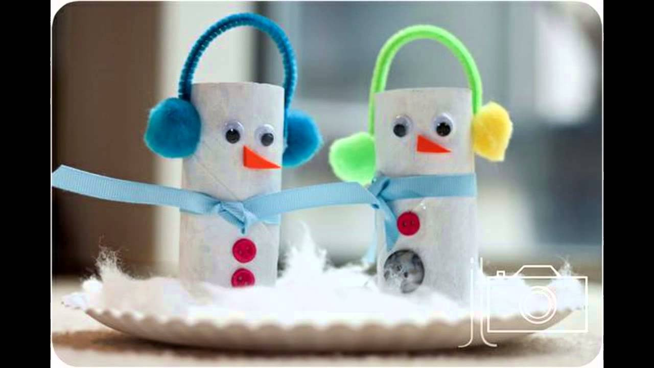 Fun Crafts For Preschoolers  Easy Winter crafts for kids
