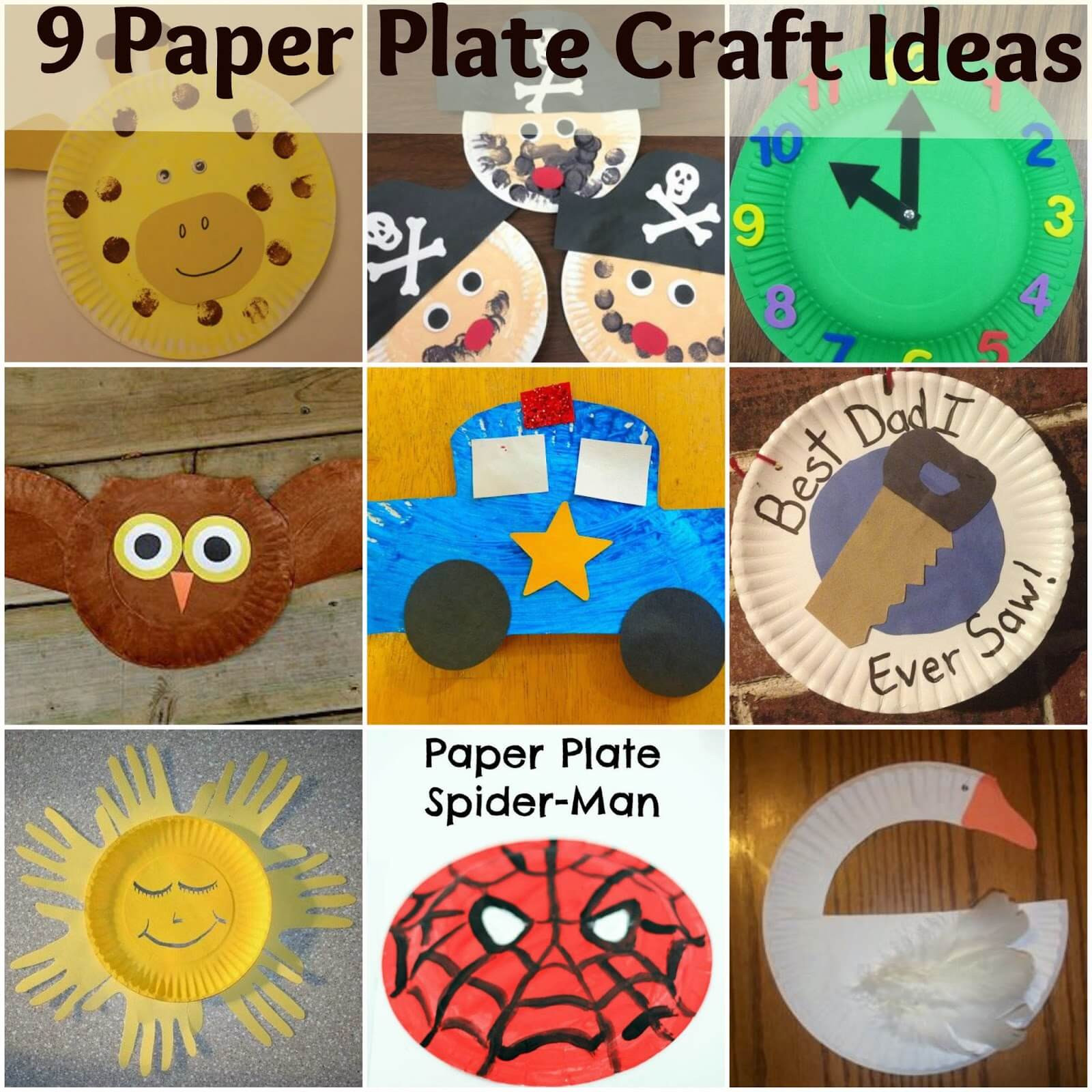Fun Crafts For Preschoolers  9 Paper Plate Craft Ideas For Kids Mother 2 Mother Blog