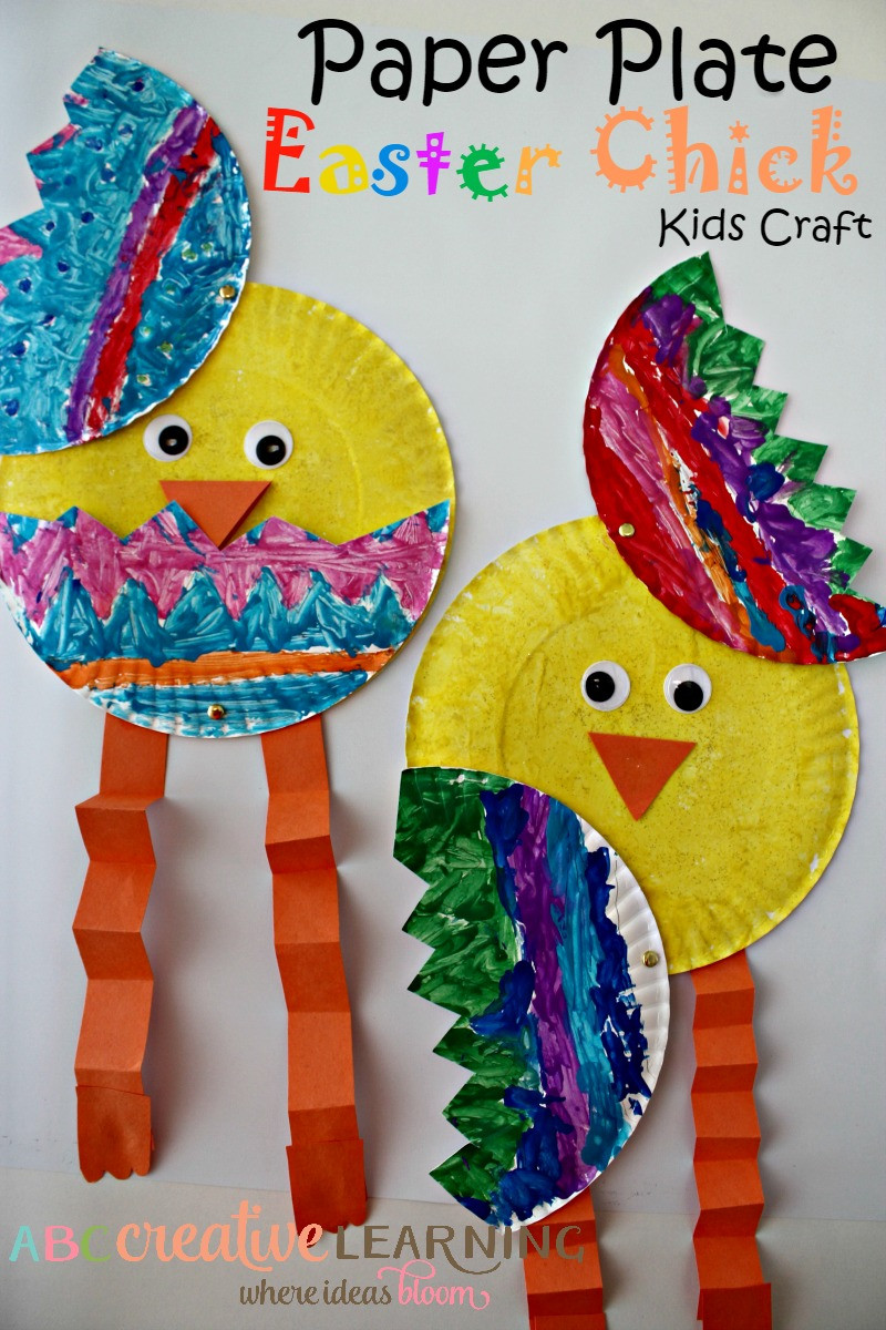 Fun Crafts For Preschoolers  Over 33 Easter Craft Ideas for Kids to Make Simple Cute