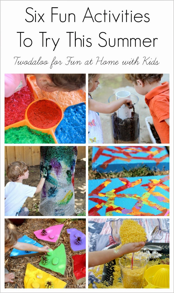Fun Ideas For Kids  Guest Post Six Fun Activities to Try with your Kids this