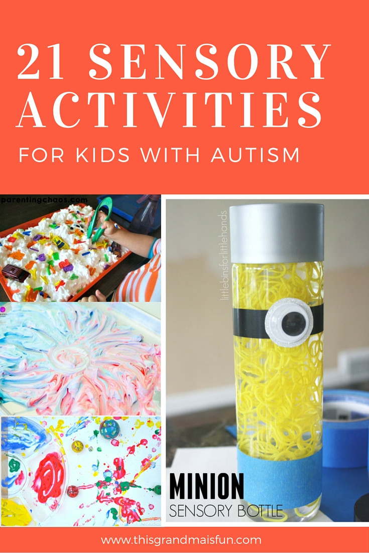 Fun Ideas For Kids  21 Sensory Activities For Kids With Autism TGIF This