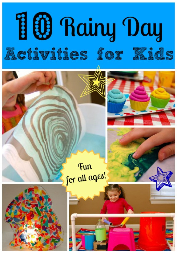 Fun Ideas For Kids  10 Rainy Day Activities for Kids Inner Child Fun