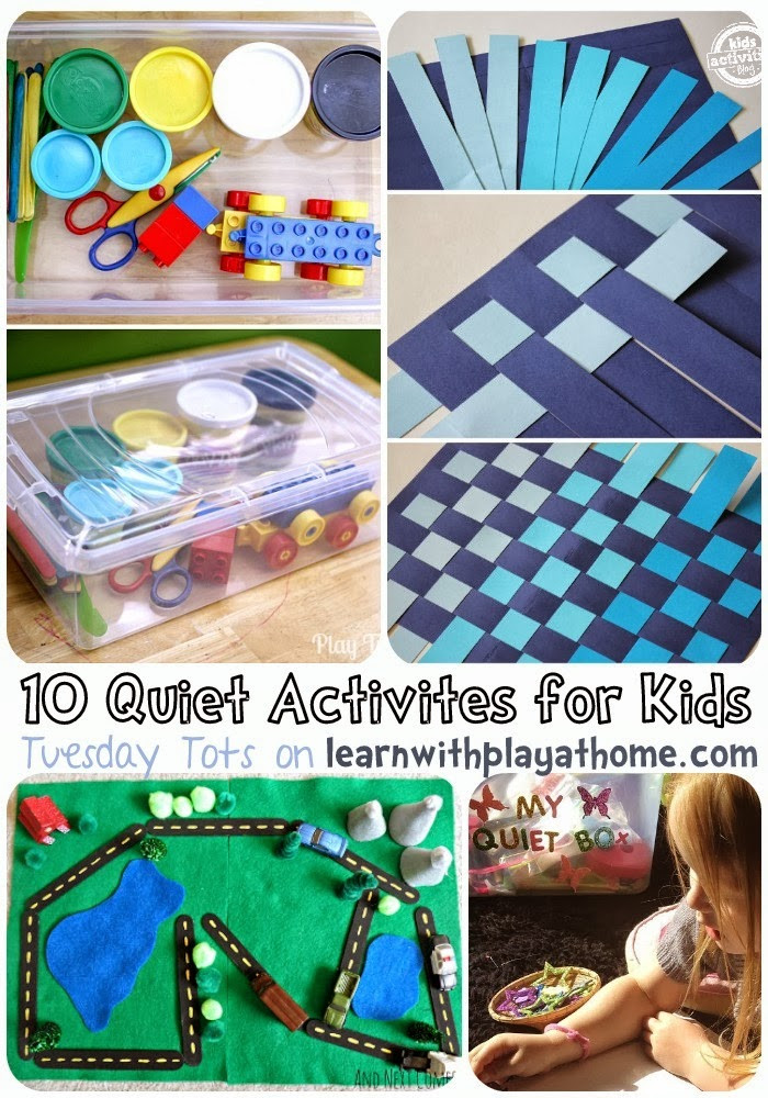 Fun Ideas For Kids  Learn with Play at Home 10 Quiet Activities for Kids