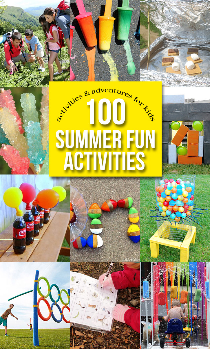 Fun Kids Projects  100 Outdoor Activities for Kids