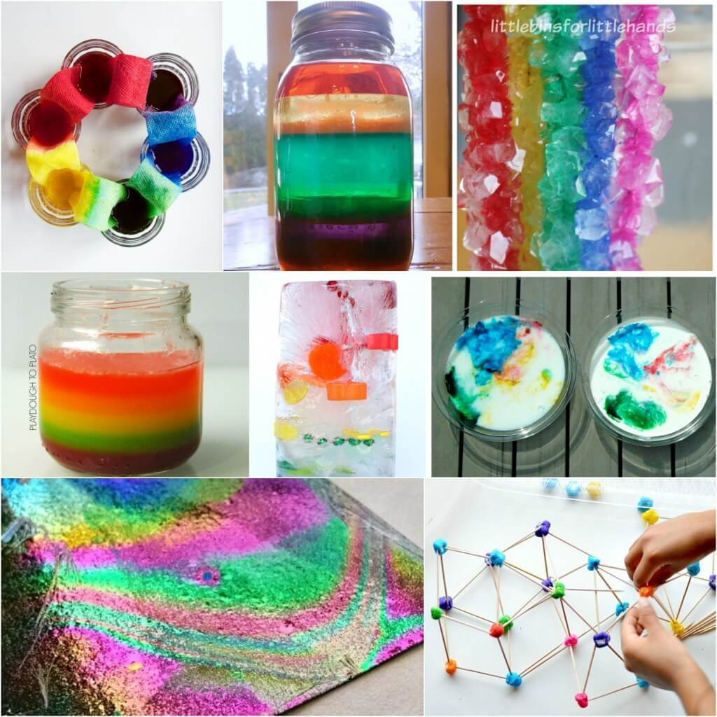 Fun Kids Projects  25 Rainbow Activities for Kids Playdough To Plato