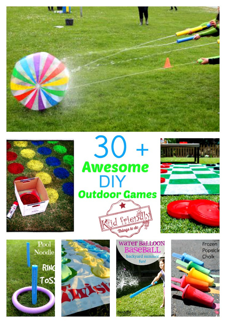 Fun Outdoor Games For Kids  Over 30 Awesome Summer Outdoor Games For Kids to Play