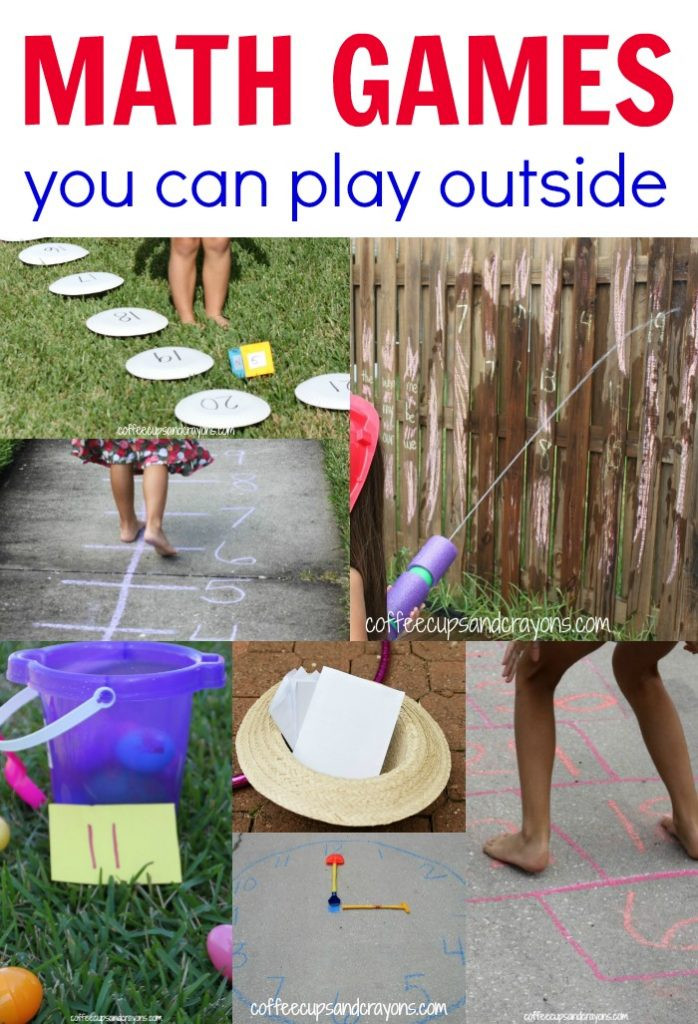 Fun Outdoor Games For Kids  Outdoor Math Games for Kids