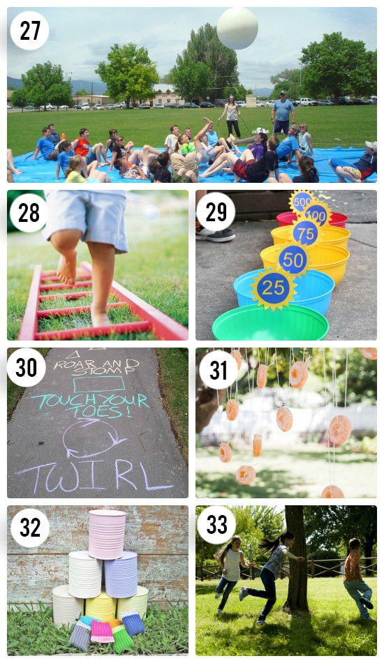 Fun Outdoor Games For Kids  65 Outdoor Party Games for the Entire Family