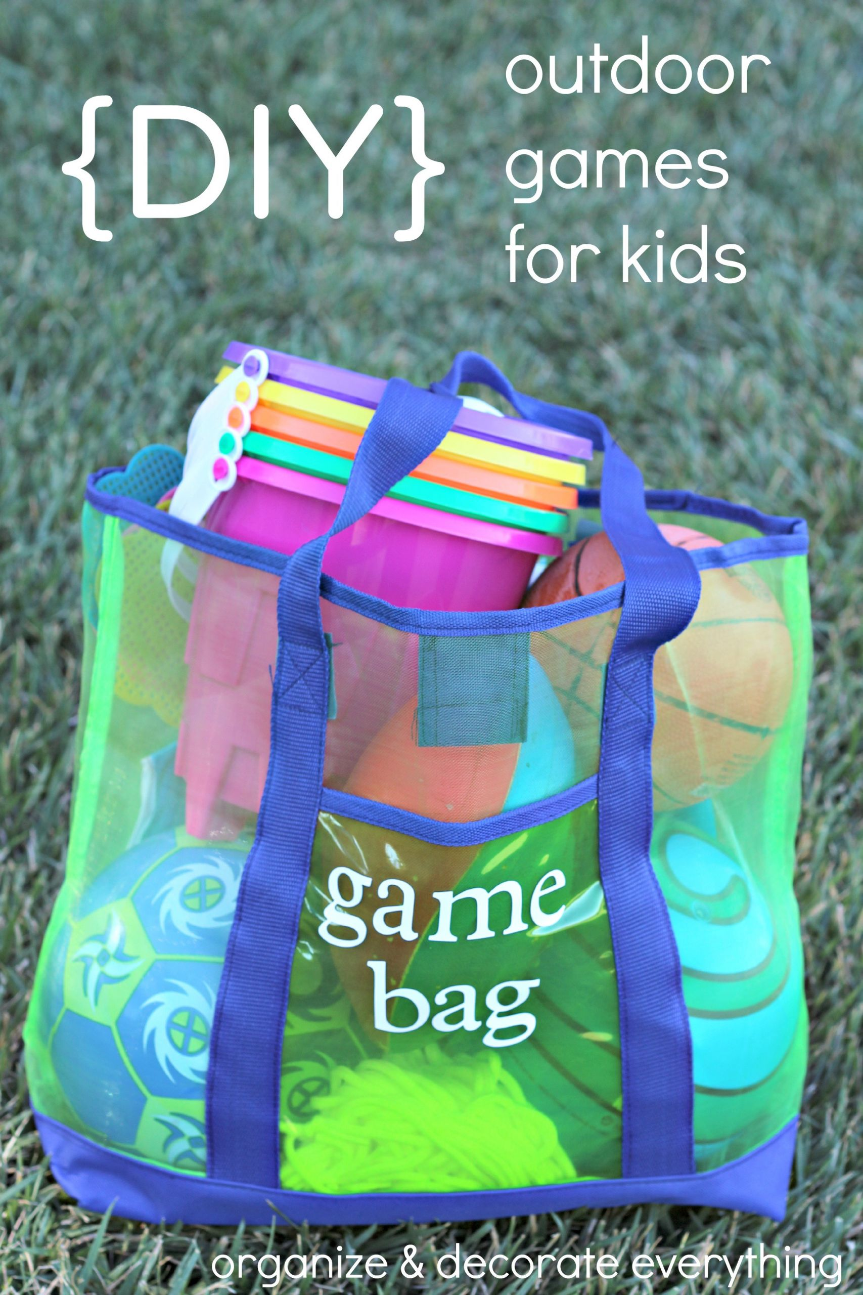 Fun Outdoor Games For Kids  12 Fun Kid Activities and Projects Organize and