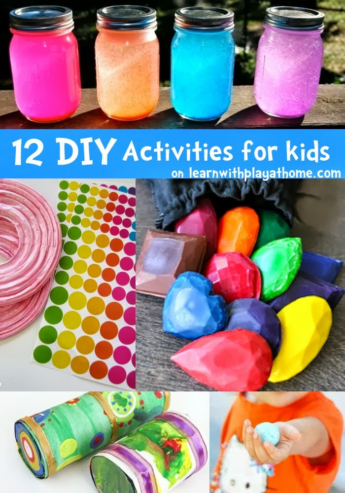 Fun Projects For Kids  Learn with Play at Home 12 fun DIY Activities for kids