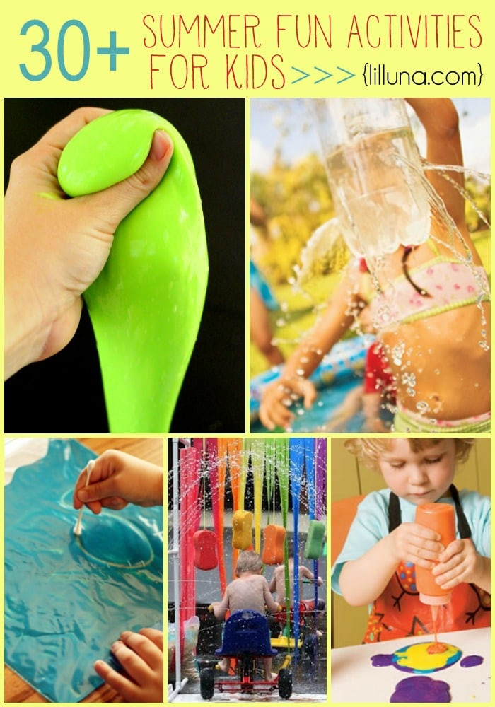 Fun Projects For Kids  30 summer activities for kids
