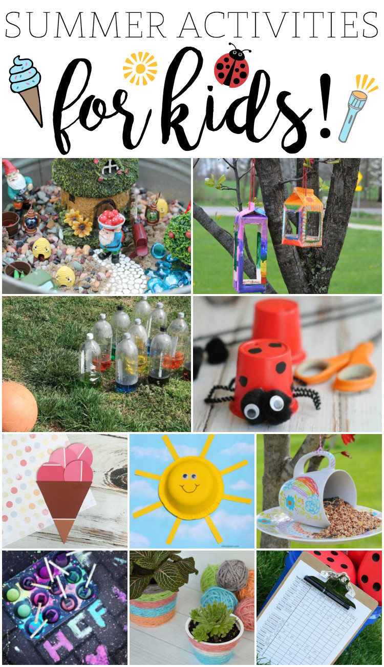 Fun Projects For Kids  Fun Summer Activities for Kids
