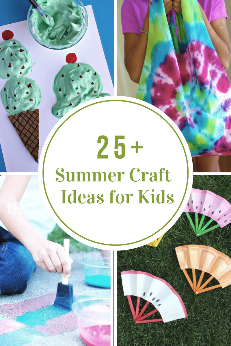 Fun Projects For Kids  40 Creative Summer Crafts for Kids That Are Really Fun