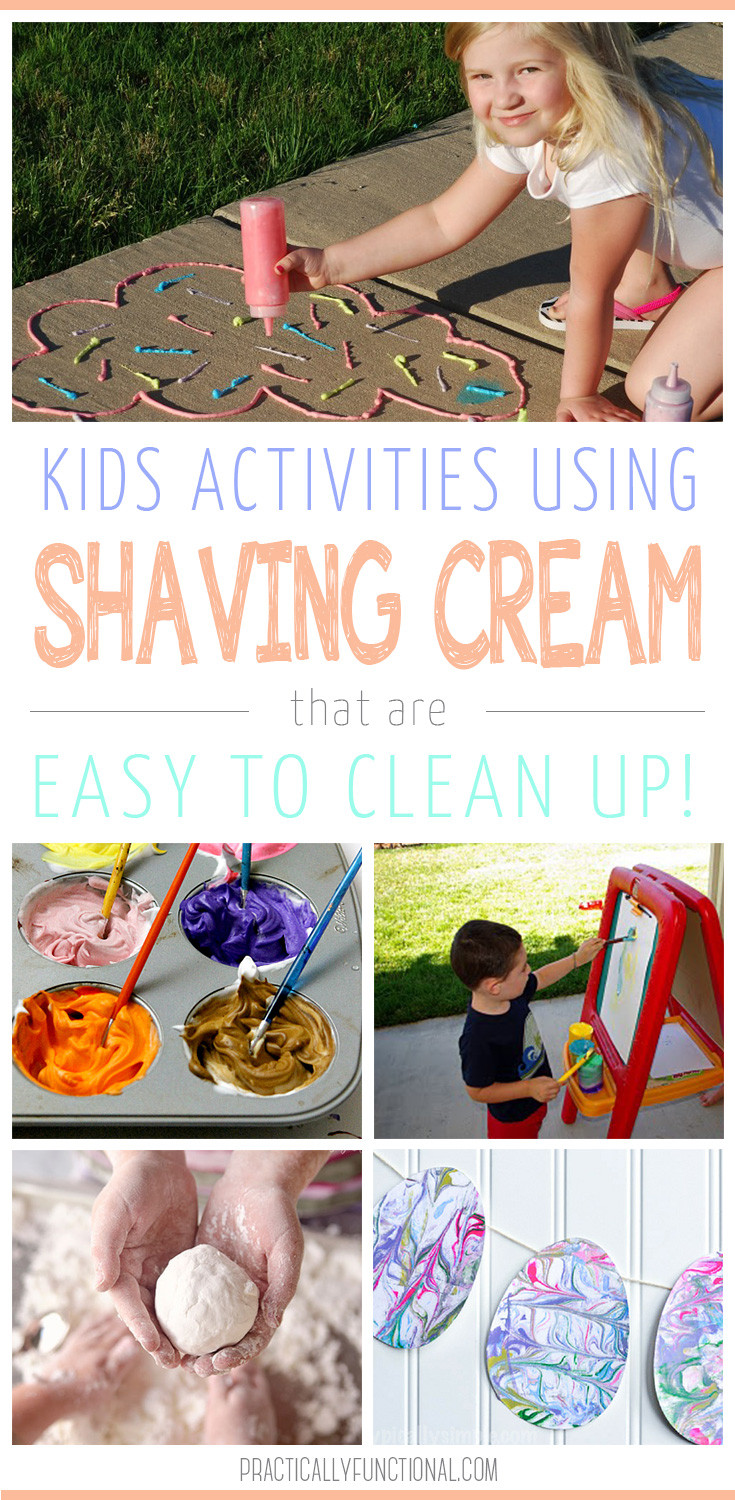 Fun Projects For Kids  12 Fun Shaving Cream Activities For Kids