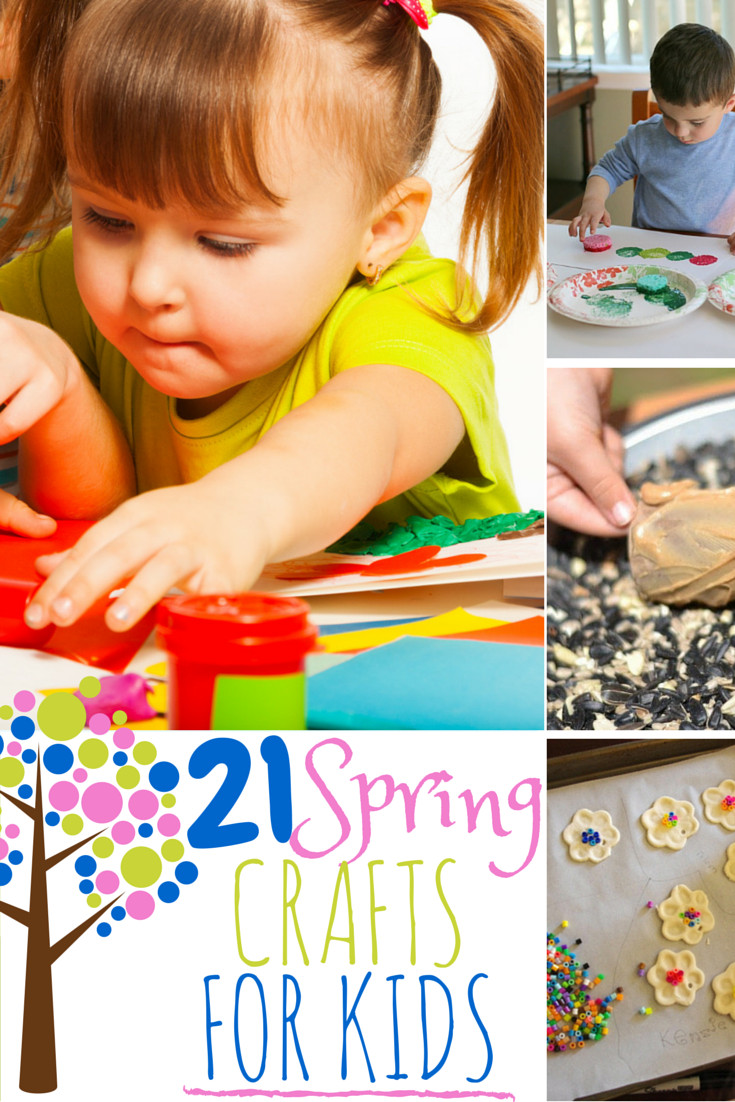 Fun Projects For Kids  21 Fun Spring Crafts and Activities for Kids The Best of