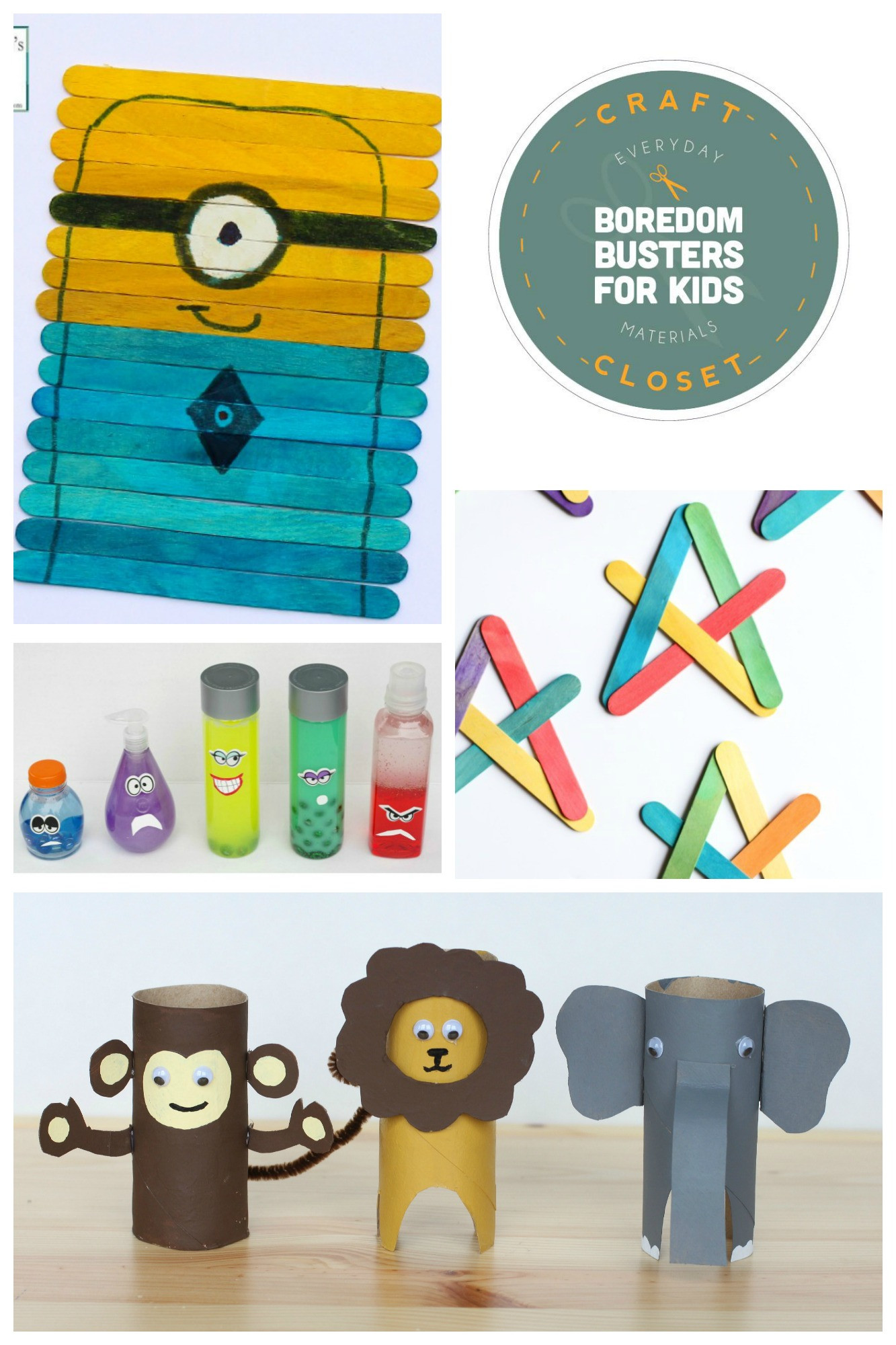 Fun Projects For Kids  25 Crafts and Activities for Kids Using Everyday Materials
