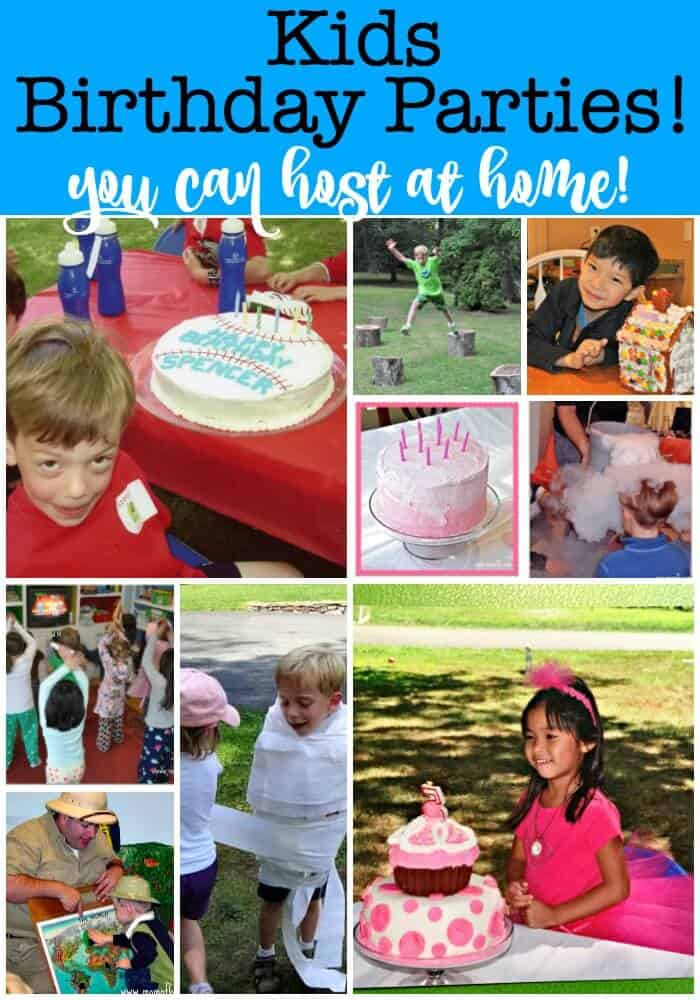 Games For Kids Bday Party  How to Throw Your Own Kids Birthday Parties at Home Mom 6