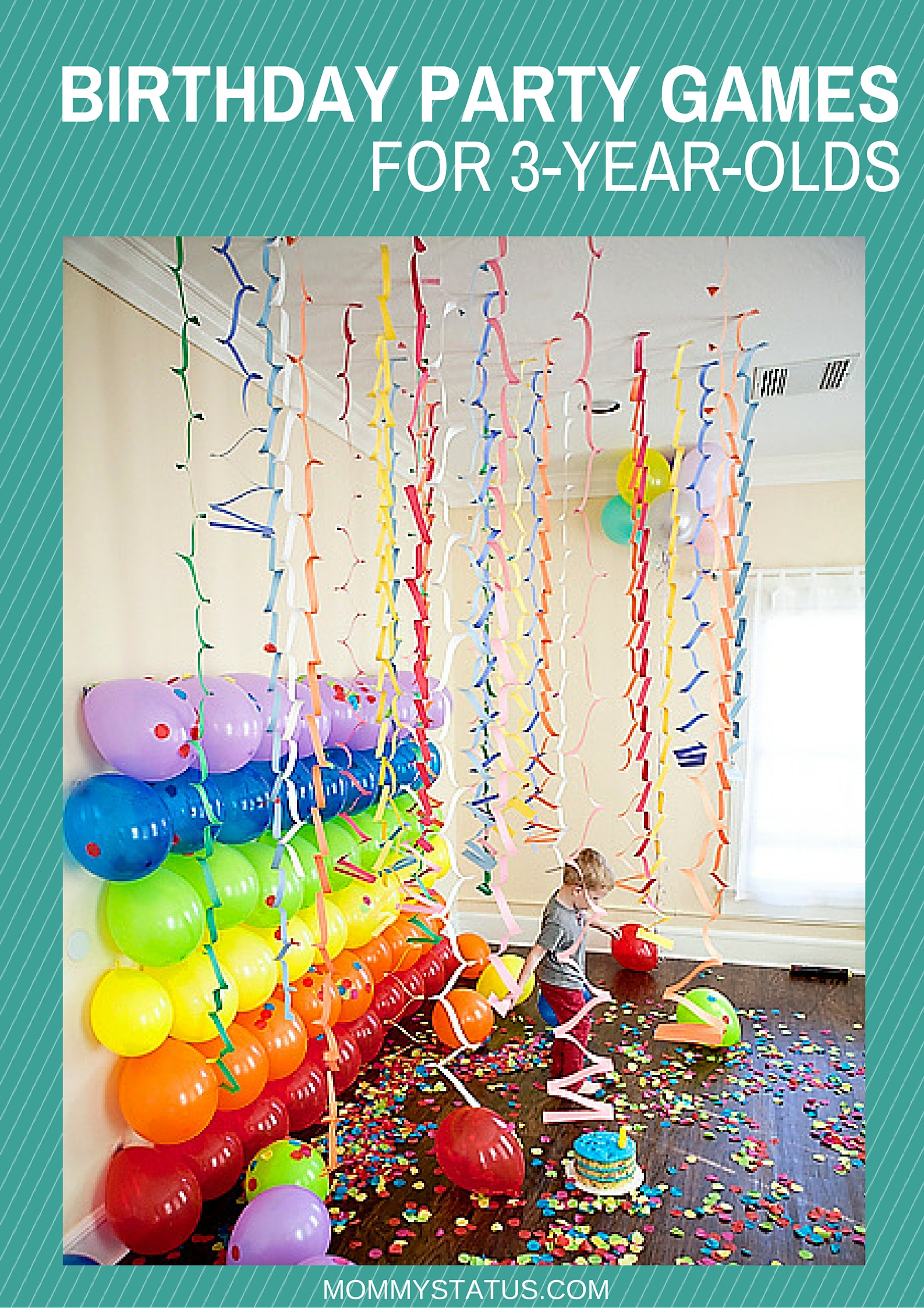 Games For Kids Bday Party  BIRTHDAY PARTY GAMES FOR 3 YEAR OLDS Mommy Status