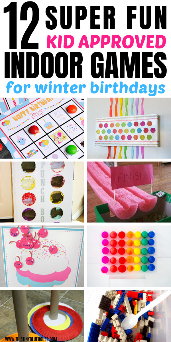 Games For Kids Bday Party  12 Indoor Birthday Party Games Kids Will Love This Tiny
