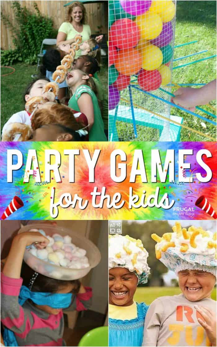 Games For Kids Bday Party  Kids Party Games For the Classroom Too