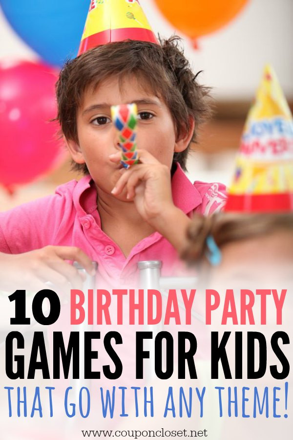 Games For Kids Bday Party  10 Birthday Party Games for Kids that will go with any