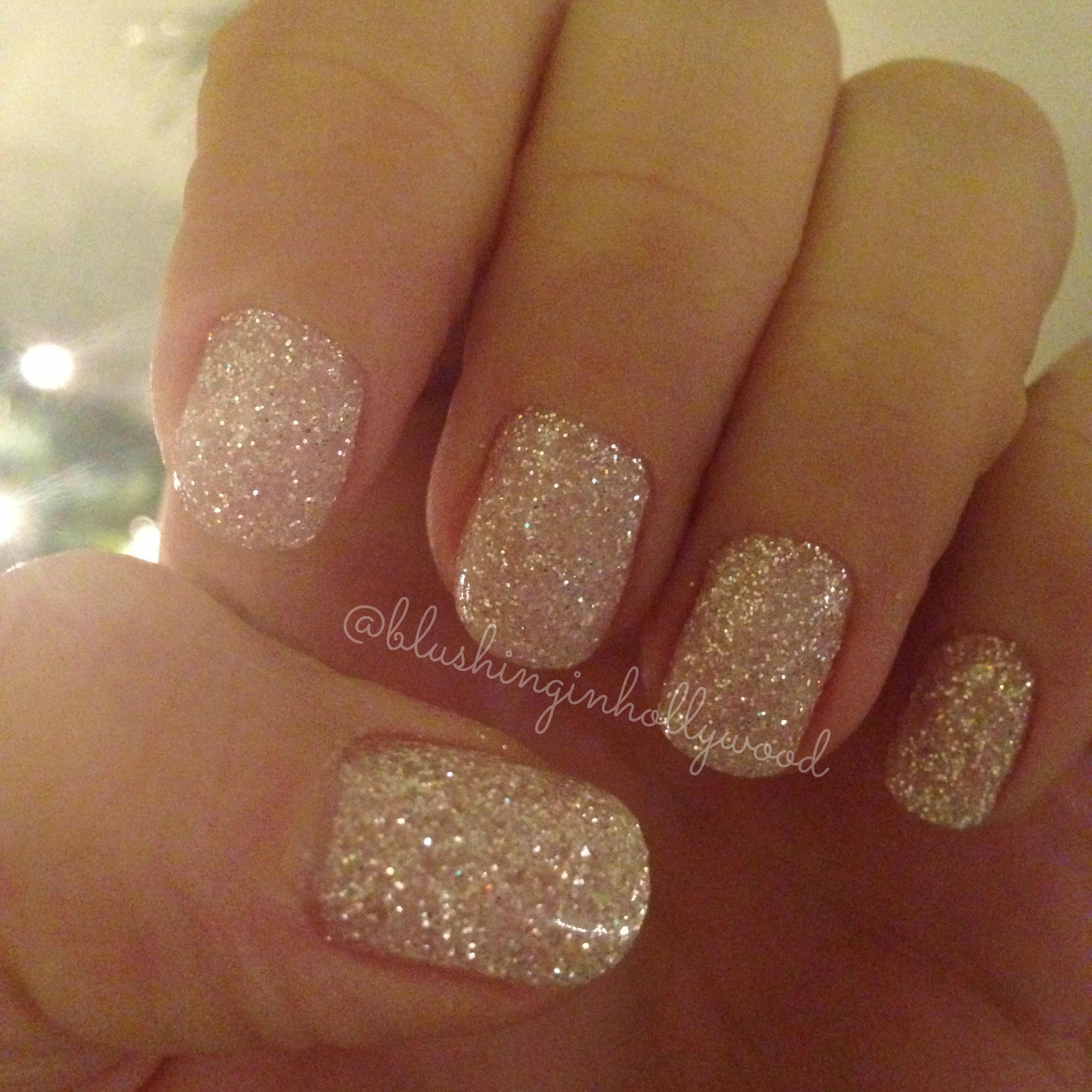 Gel Glitter Nails  Make Your Manicure Last Longer Blushing in Hollywood