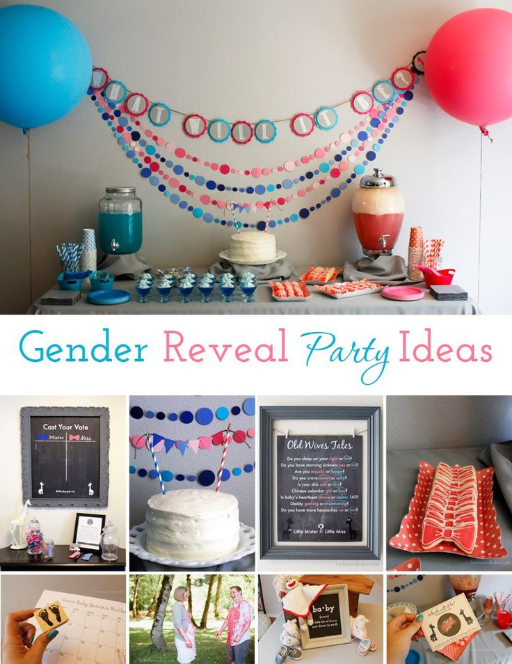 Gender Release Party Ideas  1000 images about Gender Reveal Party Ideas on Pinterest