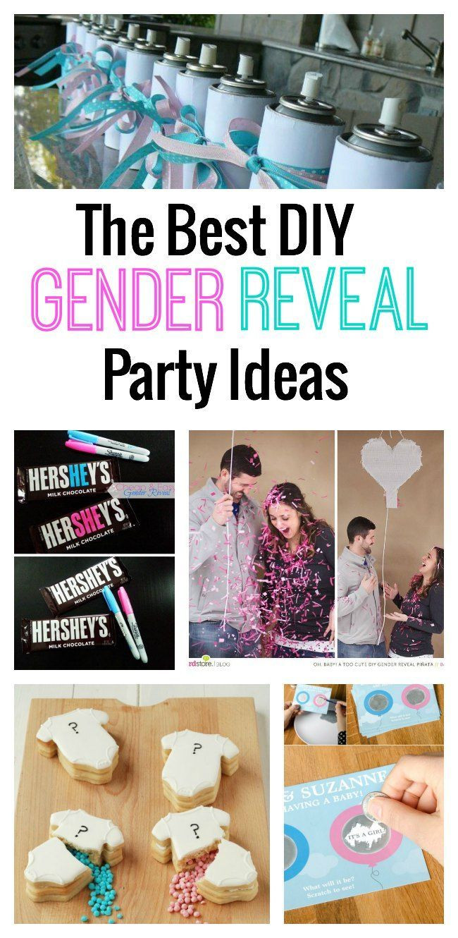 Gender Release Party Ideas  The Best DIY Gender Reveal Party Ideas