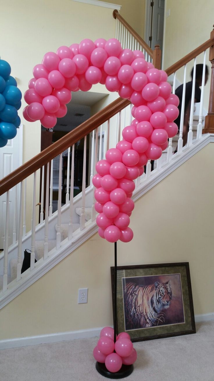 Gender Reveal Party Ideas Balloons  Best 25 Gender reveal decorations ideas on Pinterest