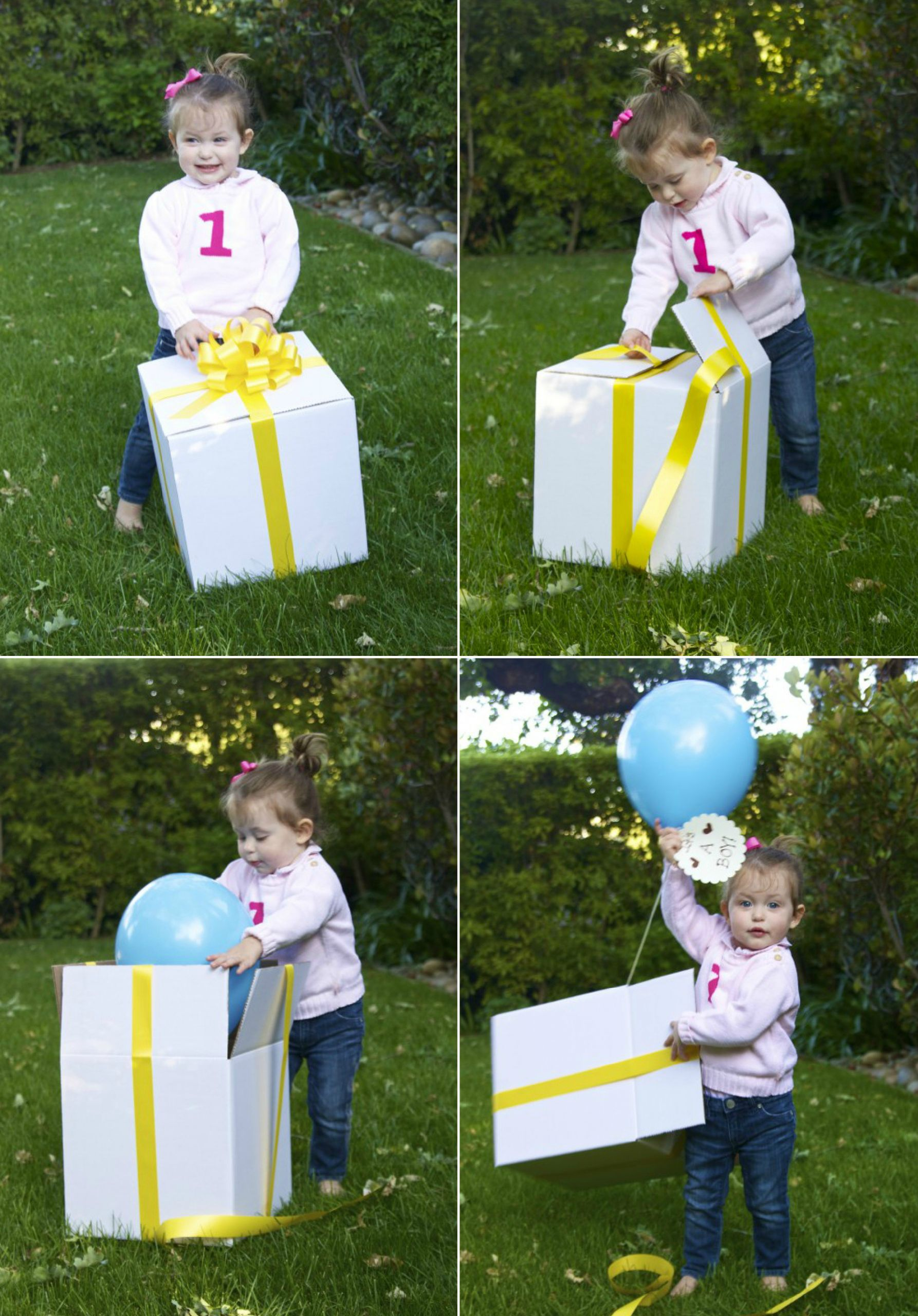 Gender Reveal Party Ideas Balloons  Fun Ways to Reveal Your Baby s Gender