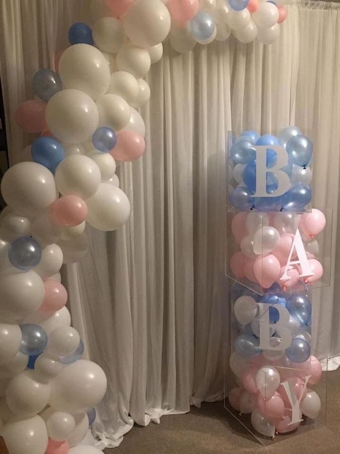 Gender Reveal Party Ideas Balloons  Gender reveal ideas for the most important party in your