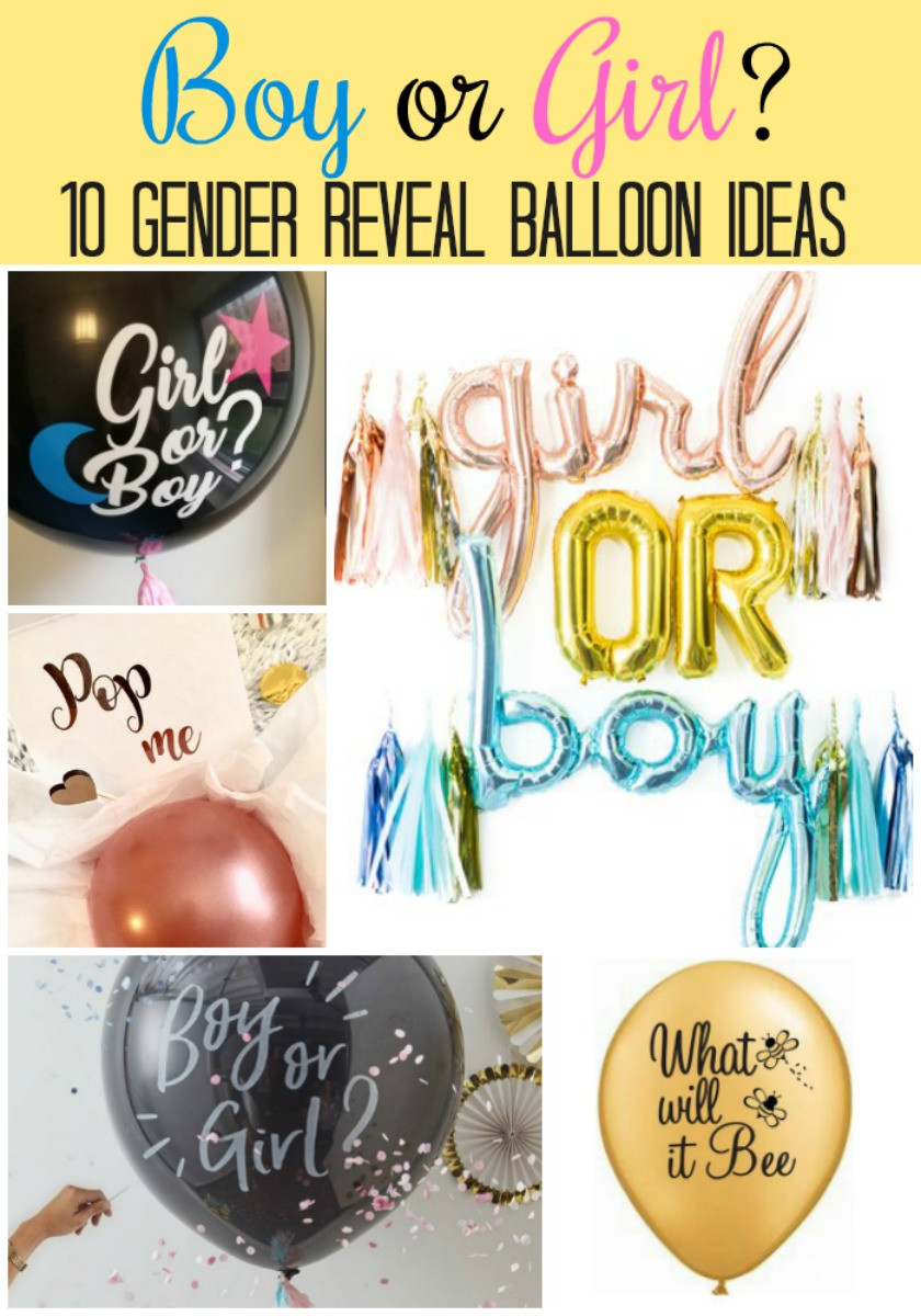 Gender Reveal Party Ideas Balloons  Make Your Gender Reveal Party POP with a Gender Reveal Balloon