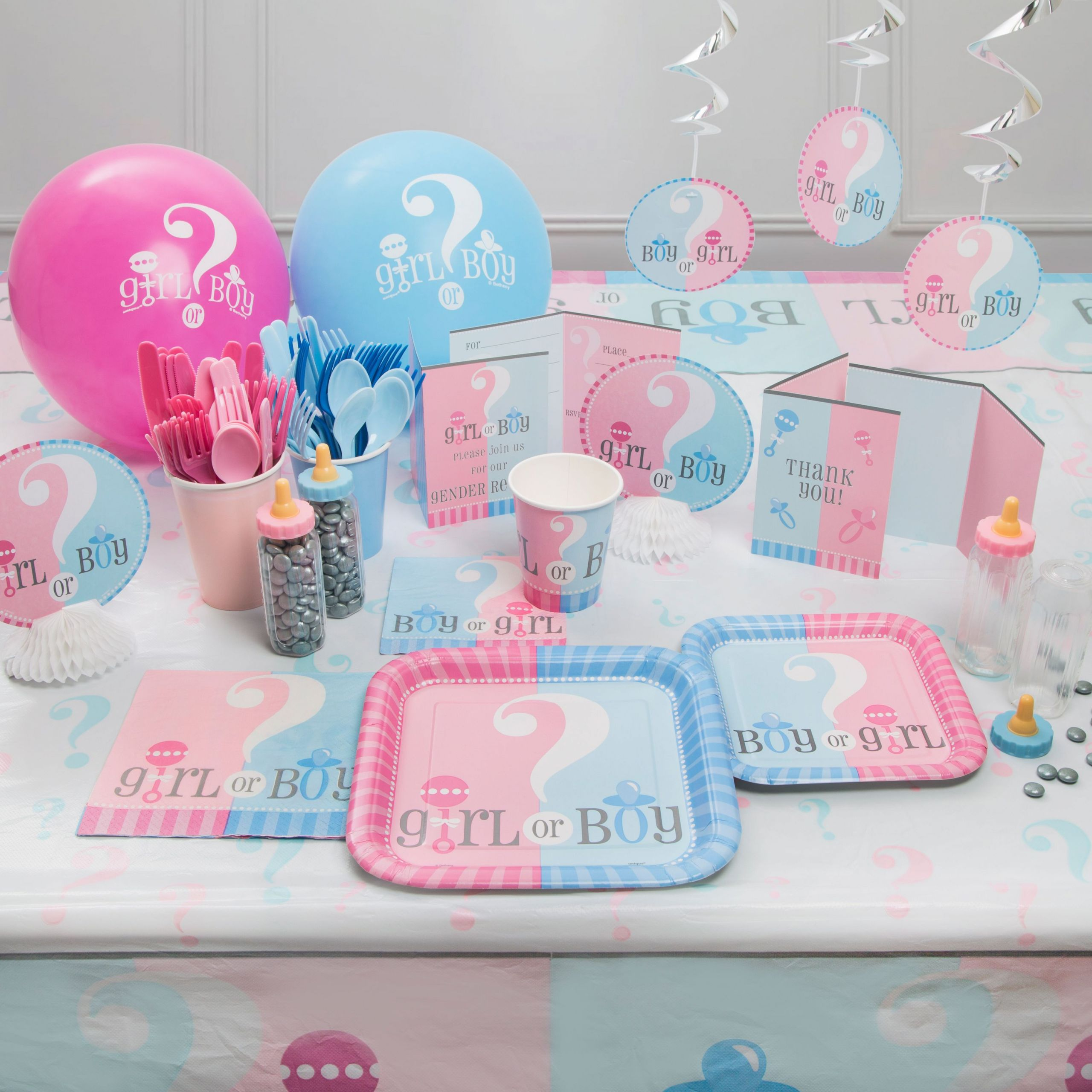 Gender Reveal Party Ideas Party City  Gender Reveal Party Supplies Walmart