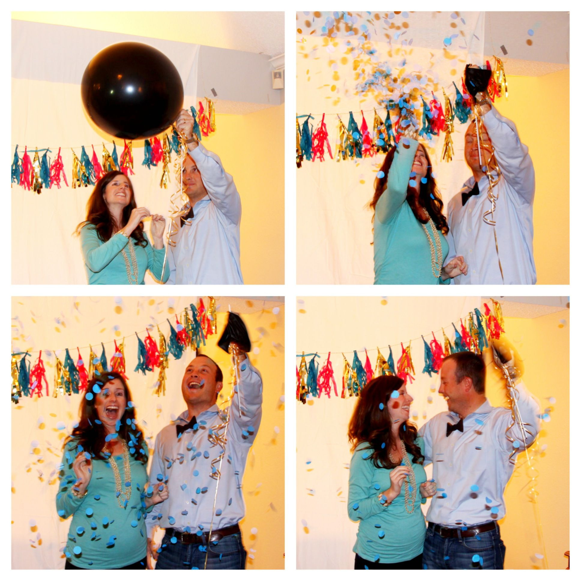 Gender Reveal Party Ideas Party City  Our gender reveal party TIP order balloon from Etsy