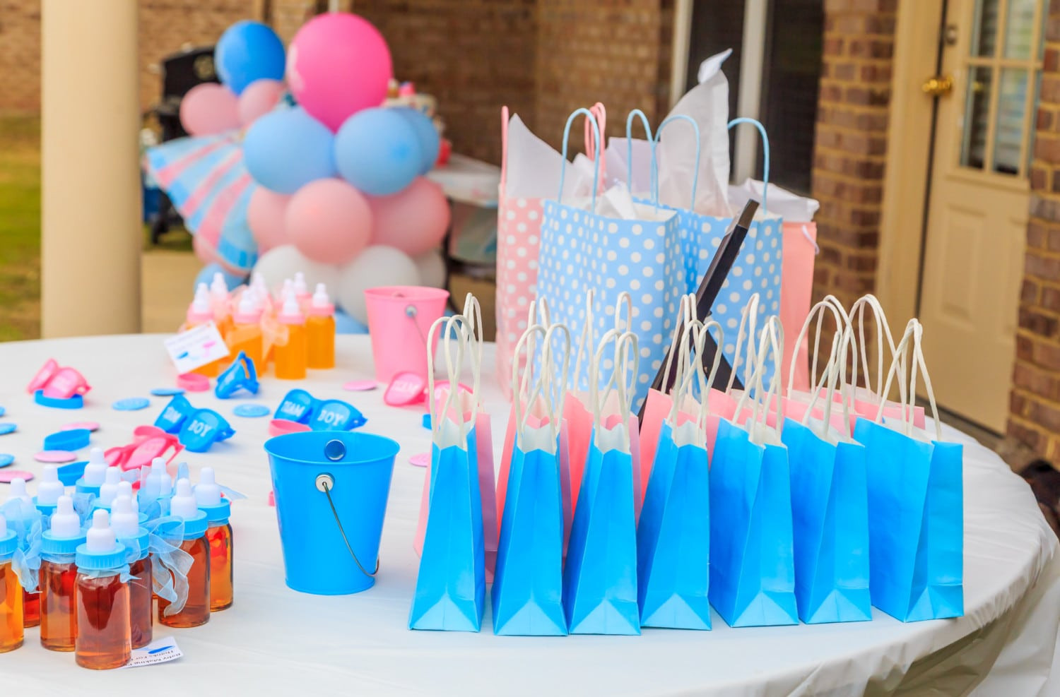 Gender Reveal Party Ideas Party City  Over The Top Gender Reveal Parties Simplemost