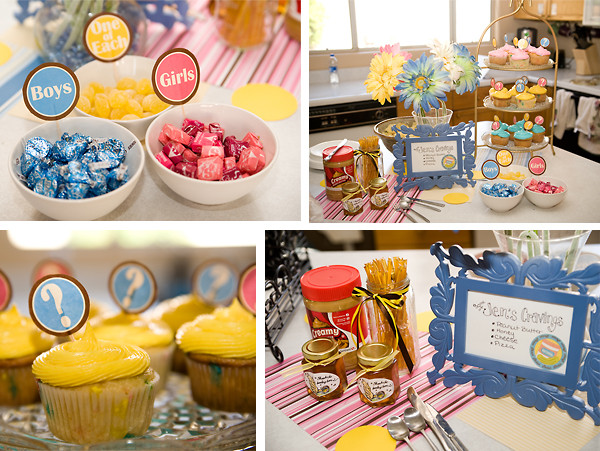 Gender Reveal Party Ideas Twins  Nothings and Notions from my Noodle Twin Gender Reveal Party