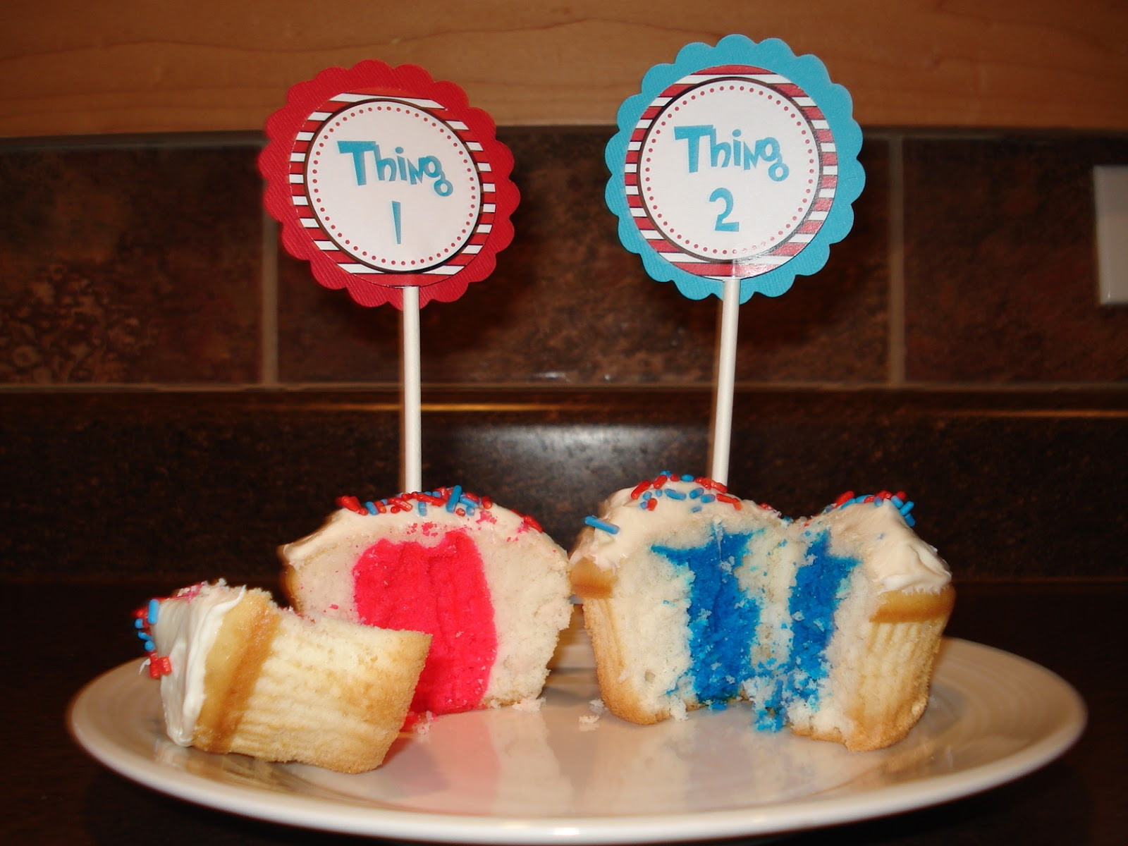 Gender Reveal Party Ideas Twins  The Long Way Around Twin Gender Reveal Party