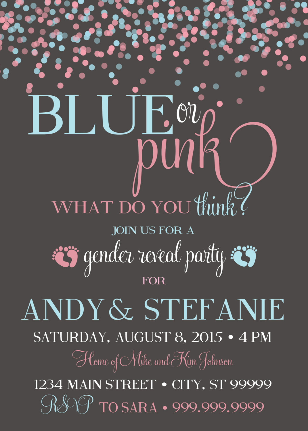 Gender Reveal Party Invitation Ideas  10 Baby Gender Reveal Party Ideas