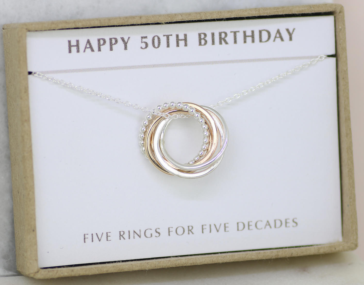 Gift Ideas For 50Th Birthday  50th birthday t 50th birthday jewelry 50th t for