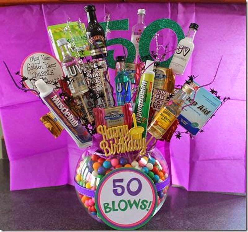 Gift Ideas For 50Th Birthday  BIRTHDAY GIFTS