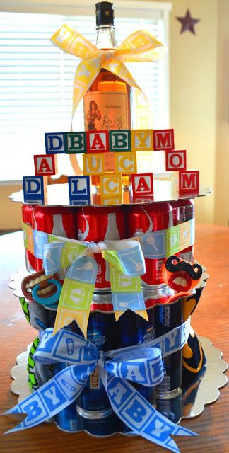 Gift Ideas For Dad From Baby Girl  Daddy cake co ed baby shower idea for the dad