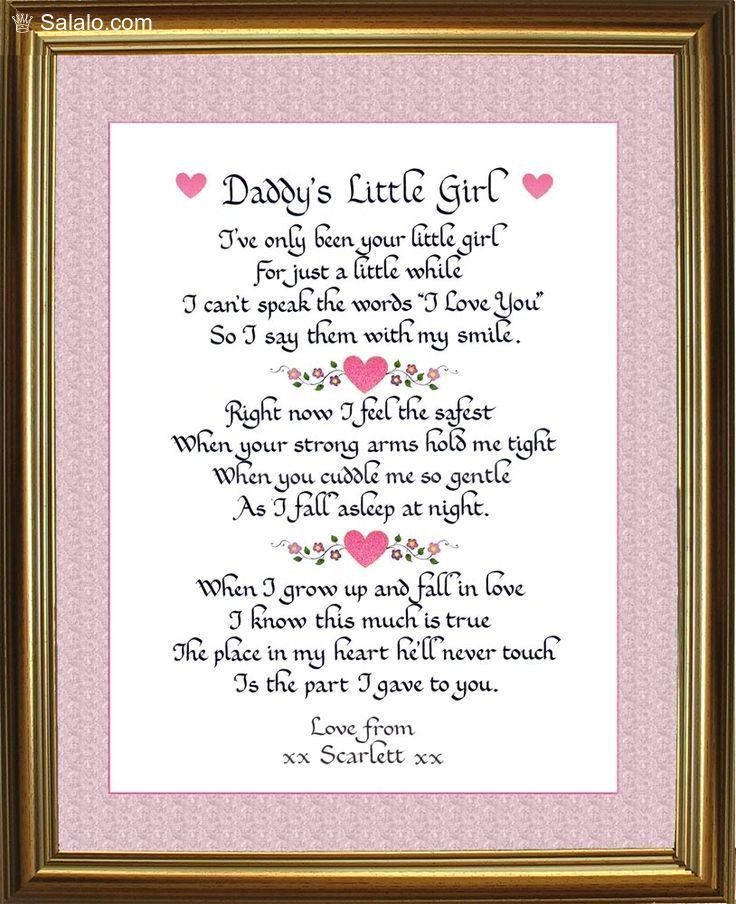 Gift Ideas For Dad From Baby Girl  285 best Fathers Day Quotes Daddy Gifts images on