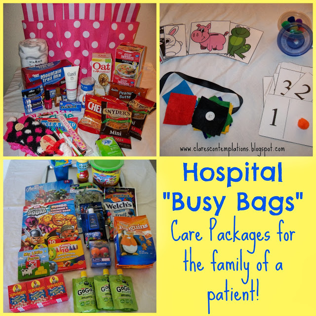 Gift Ideas For Kids With Cancer  kids chemo care package ideas