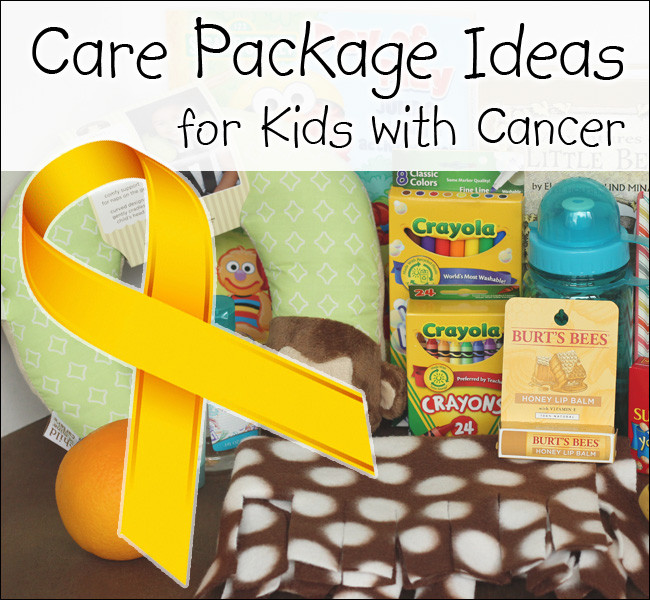 Gift Ideas For Kids With Cancer  Take Them A Meal
