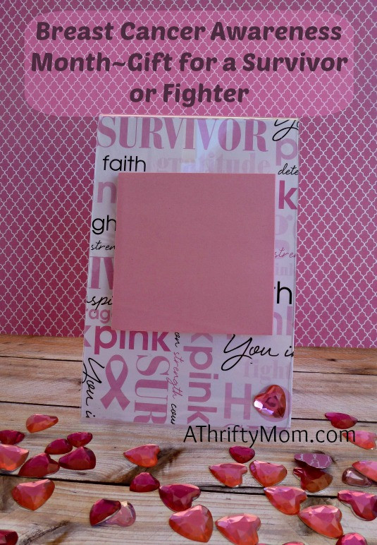 Gift Ideas For Kids With Cancer  Breast Cancer Awareness Month Gift for a Survivor A