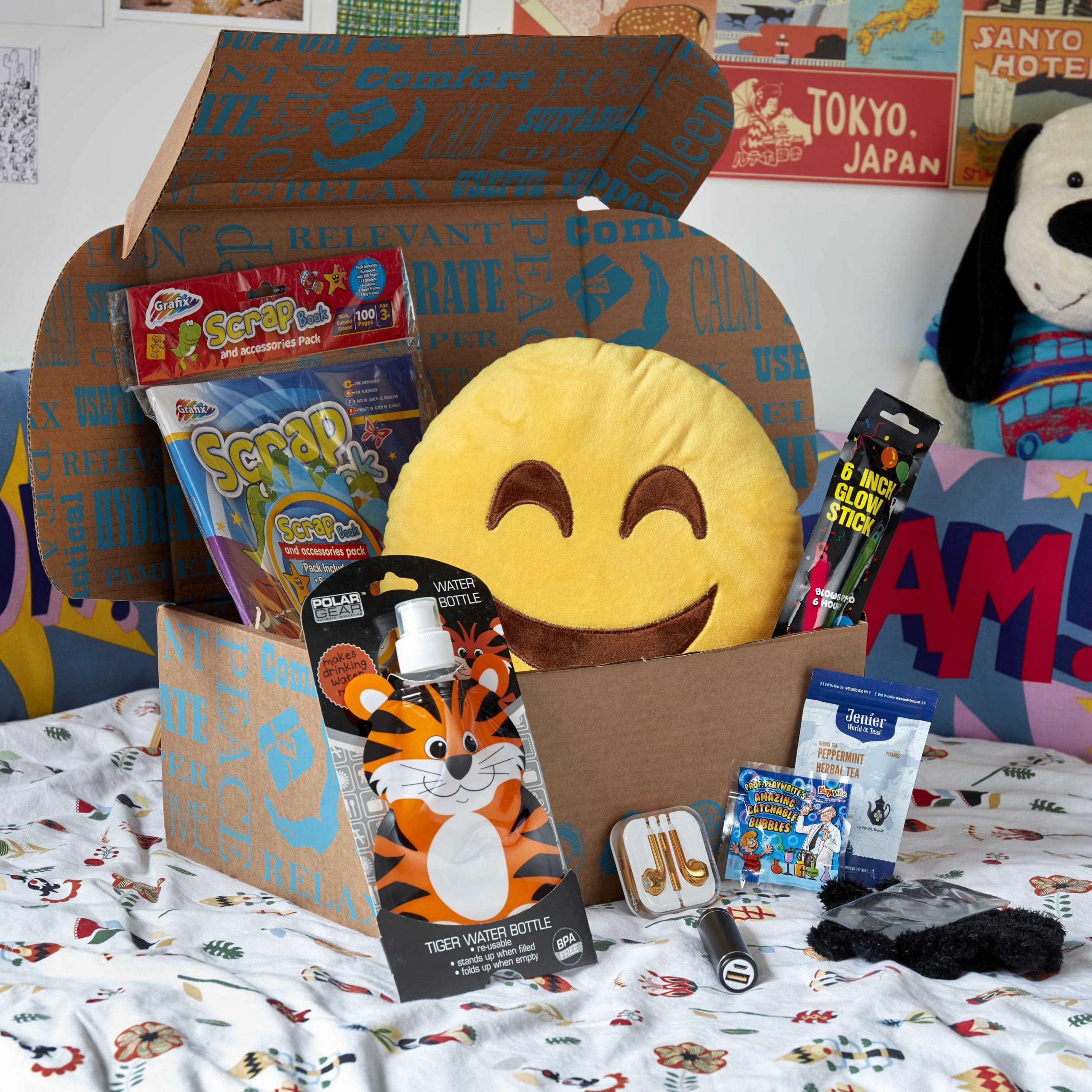 Gift Ideas For Kids With Cancer  Childhood Cancer Survival Kit Gift Ideas For Children