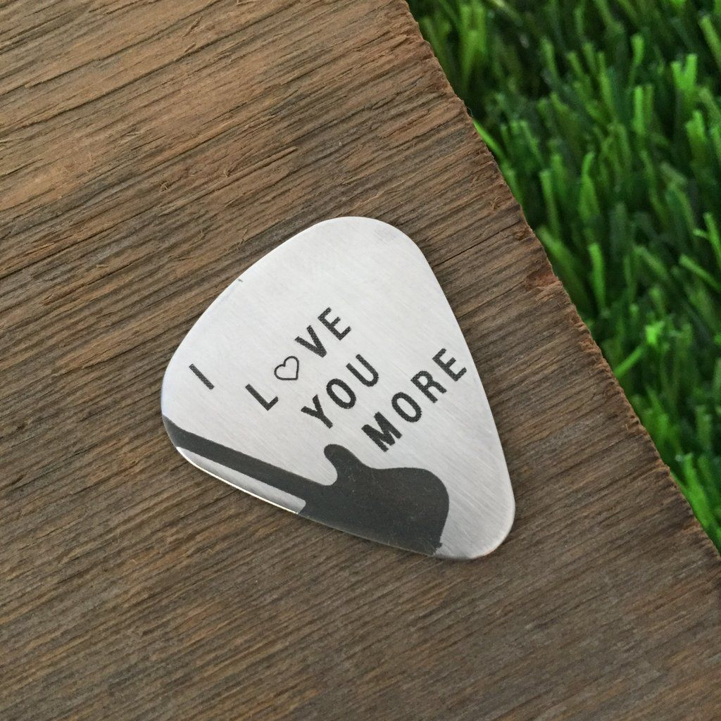 Gift Ideas For Musician Boyfriend  You Have My Heart Guitar Pick